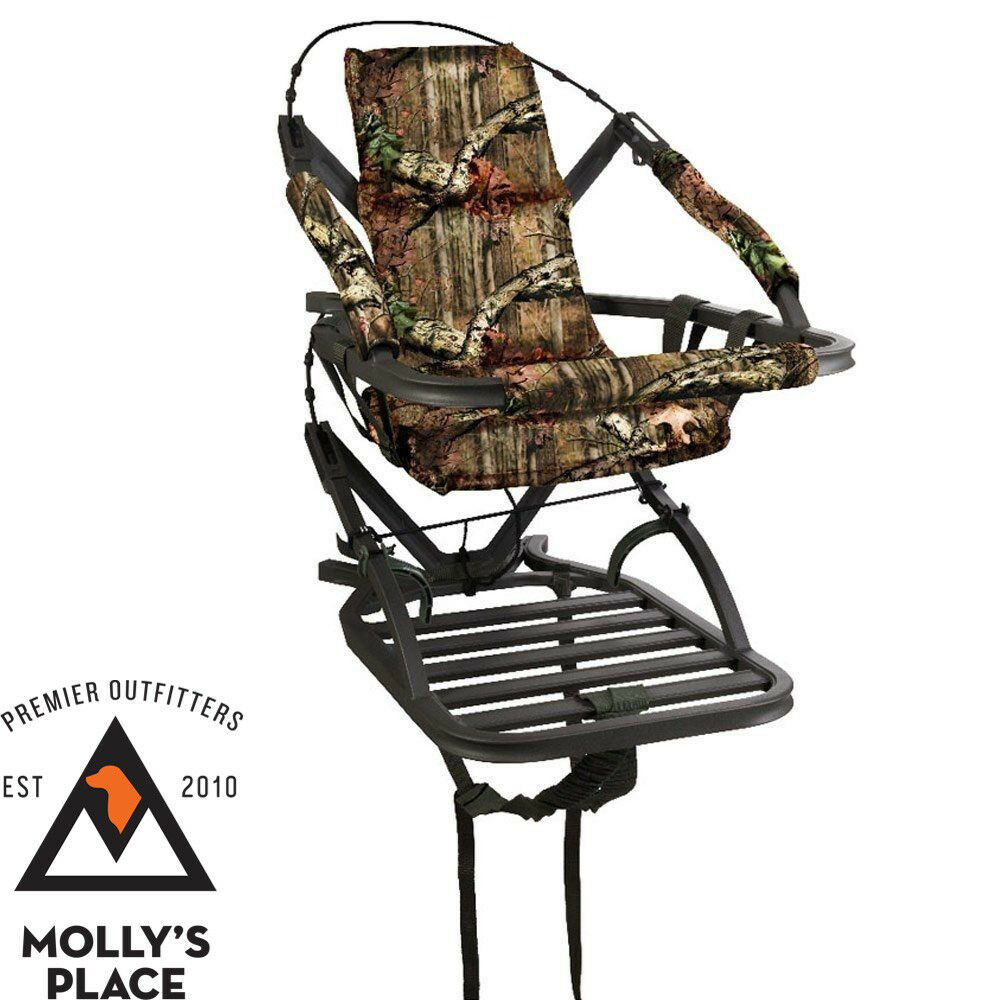 Summit Treestands Goliath SD Climbing Treestand, Mossy Oak