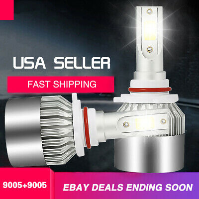 9005 HB3 LED Headlight Bulbs High Beam For Toyota Celica GTS Prius Supra Tundra