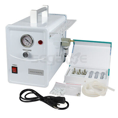 جهاز تقشير الجلد جديد PROFESSIONAL Diamond Microdermabrasion Dermabrasion Facial Skin Care Spa Machine