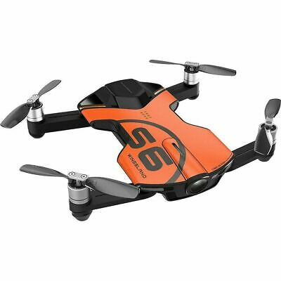 Wingsland S6 Pocket RC Quadcopter FPV GPS Selfie Drone 4K HD Camera - Black