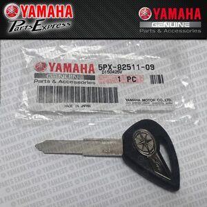NEW YAMAHA VMAX STRATOLINER V MAX GENUINE OEM IGNITION KEY BLANK 5PX-82511-09-00
