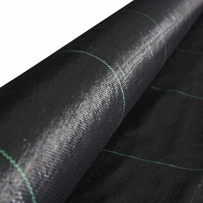 - 4FTx250FT Membrane Landscape Weed Control Fabric Ground Cover Barrier Block Mat