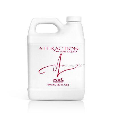 nsi Attraction Nail Acrylic Liquid 32oz / 946ml