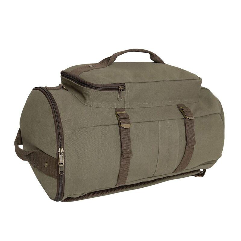 Rothco Canvas Duffle Backpack - 2515
