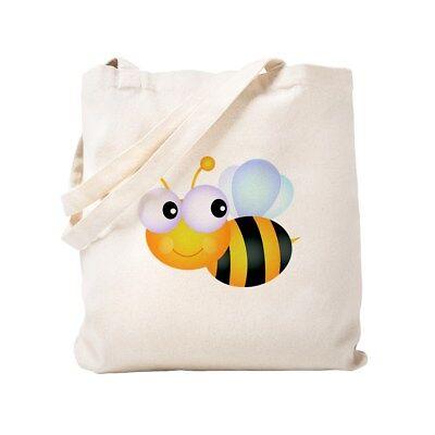 CafePress Cute Cartoon Bumble Bee Tote Bag (634431126)