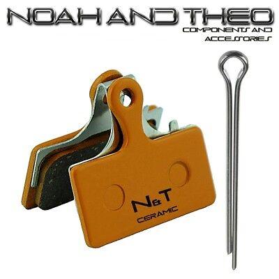 Cerámica Pastillas Frenos Compatible Con Shimano Deore Br M615 M6000 M6100