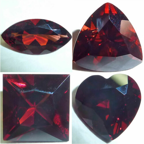 Natural Garnet Red Marquise,Trillion,Square,Heart Loose Gemstones Fine Cut AAA