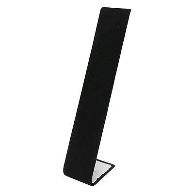 Jewelry Ramp Necklace Holder Black Velvet Rack Fixture Stand 8 Inch X 1-12 Inch
