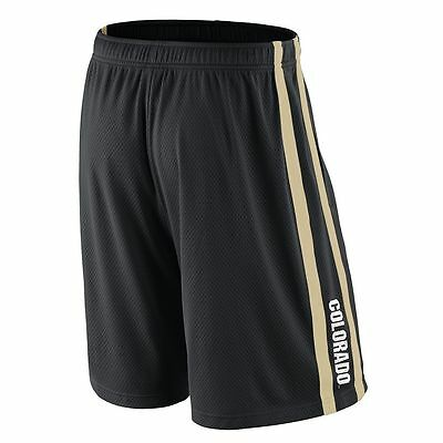NIKE Colorado Buffaloes Basketball Jersey Shorts Adult MENS/MEN