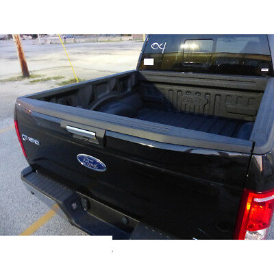 2015-2018 Ford F-150 Black Top Center Tailgate Molding Cover OEM -