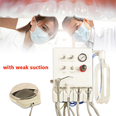 Weak Suction 4h Dental Portable Turbine Unit Water Bottle Work With Compressor