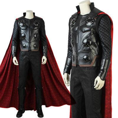 Avengers 3 Thor Infinity War Costume Thor Custom Costume Halloween Adult Costume - Adult Halloween Customes