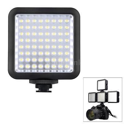Godox 64 LED Video Lights for DSLR Camera Camcorder as Fill Light for Interview
