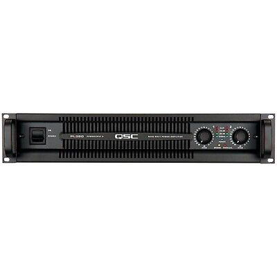 QSC PL380 Powerlight 2 Channel Power Amplifier NEAR MINT CONDITION for sale  Bethpage