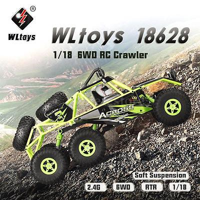 Original Wltoys 18628 1 18 2 4G 6Wd Off Road Climbing Rc Buggy Car Rtr Us Stock