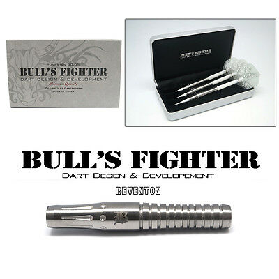 Bulls Fighter Darts 18 gram Super Grip Players Barrels 90% Tungsten BsF-Reventon