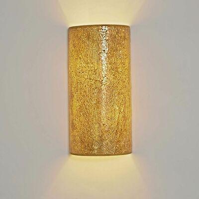 Holländer 271 1302 Wall Light 2-flammig Narziso Glass Mosaic Amber