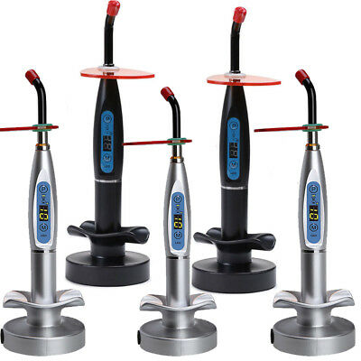 Dental 10w Wireless Cordless Cure Led Curing Light Lamp 2000mw Woodpecker Pack-2