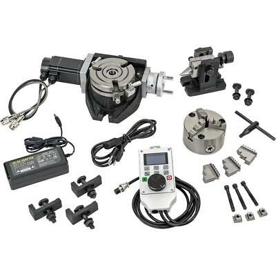 Grizzly T1192 4-38 Power Dro Rotary Table Set