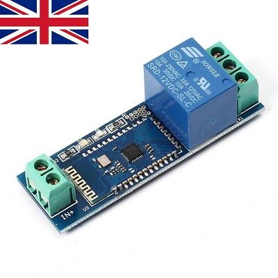 Bluetooth Relay Module Remote Control Switch 12V IOT Wireless Module ()