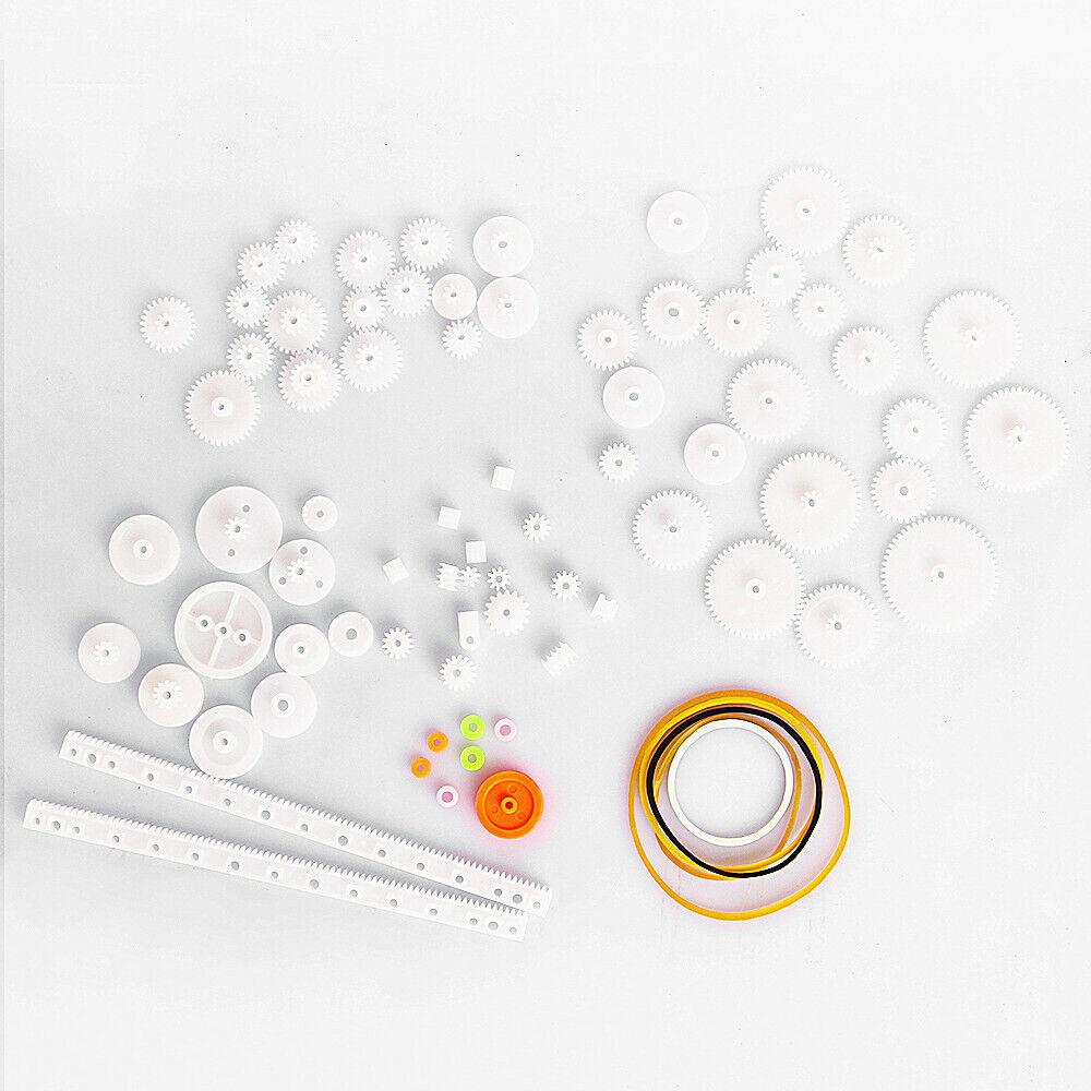 75 Teile verschiedene Zahnräder für DIY Arduino Modellbau Roboter RC Zahnrad Set