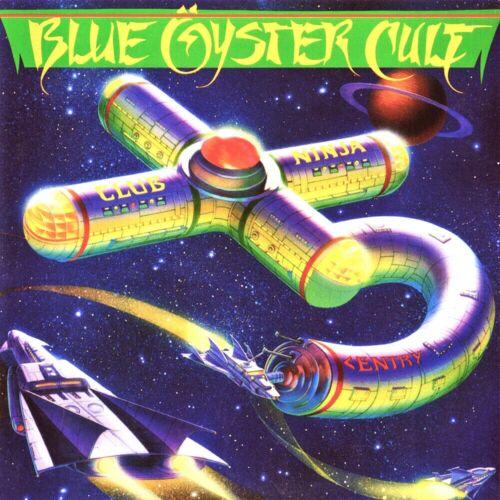 Blue Oyster Cult Club Ninja 12x12 Album Cover Replica Poster Print