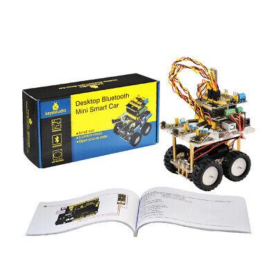 Electronics Programable Car Robot Robotics Starter Kit Diy Set For Arduino Kids