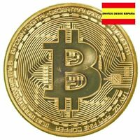 Moneda Bitcoin Oro 1 Onza, Reproducción Chapada En Oro, Envío Desde España -  - ebay.es