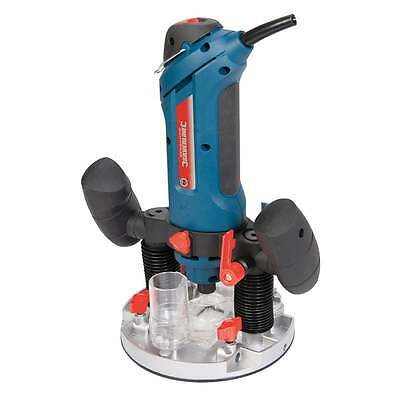 "Plunge Router 600W 1/4"" Multipurpose Electric 270289 Silverline 240V Silverstorm"