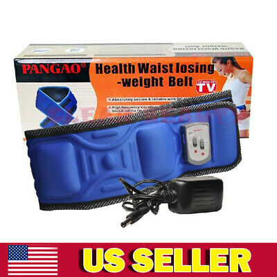 Electric Waist Loss Weight Belt Slimming Belly Auto Fat Burner Fitness Massage