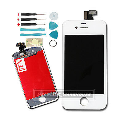 Replacement For iPhone 4 4G White LCD Display Touch Screen Glass Digitizer Lens