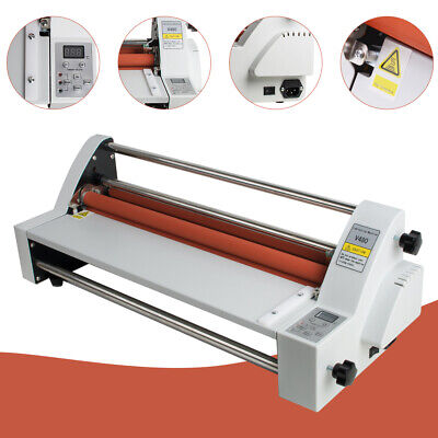 17hot Cold Roll Laminator Singledual Sided Laminating Machine Us Fast Shp