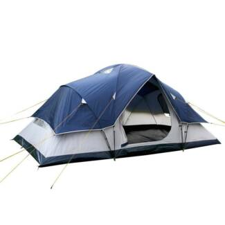 6 Person Family Camping Tent W/ Carry Bag Beach Holiday Outdoor