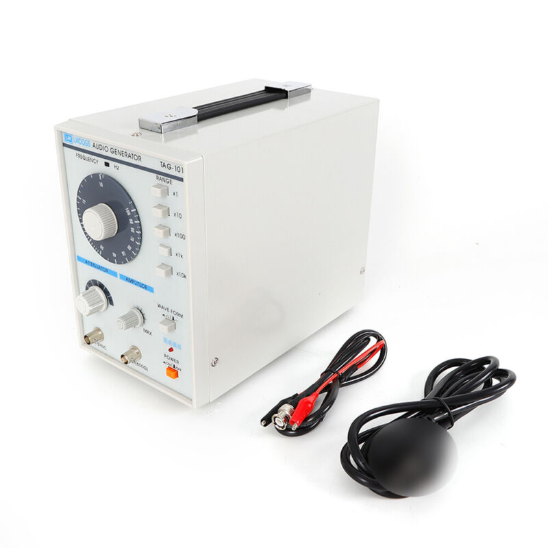 Low Frequency Audio Signal Generator Sine/Square Waves Signal Source 10Hz-1MHz