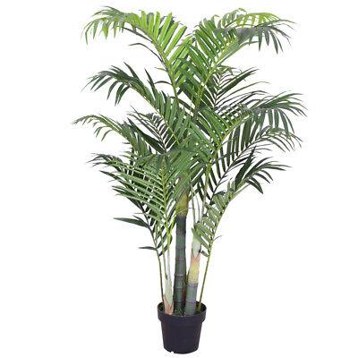 Palmizio Palma Areca Albero Pianta Artificiale 135cm Decovego