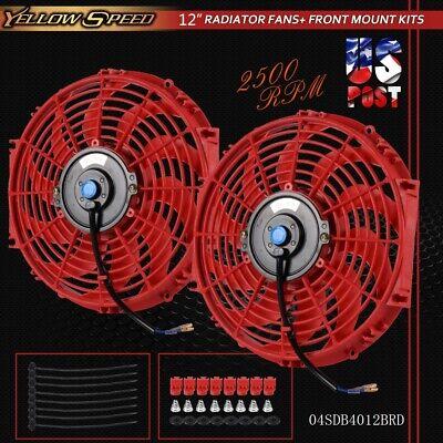 - Red 2 x Universal Slim 12