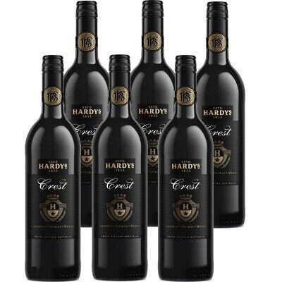 Hardys Crest Cabernet / Shiraz / Merlot Rotwein Australien 14% vol 6 x 75cl