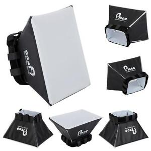 Universal Foldable Soft Box Flash Diffuser Dome for SLR & DSLR Flash