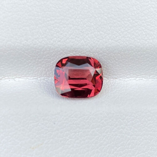 Natural Unheated Red Spinel 2.40 Cts VVS Cushion Cut Loose Gemstone