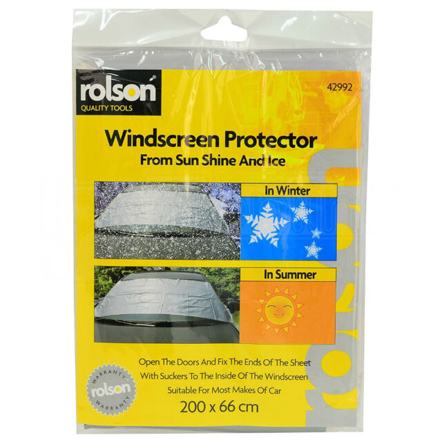 Car Van Windscreen Blind Sun Shield Reflector Blinds Screen Shade Cover Rear