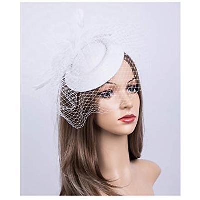 Fascinators Hats 20s 50s Pillbox Cocktail Tea Party Headwear Veil Girls Womens
