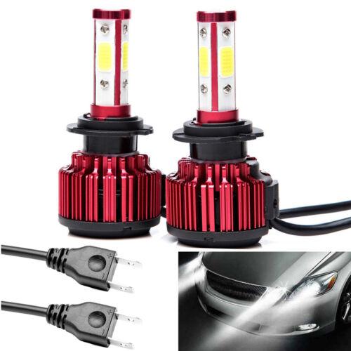 Car Parts H7 LED Headlights 480W 48000LM Bulbs 6500K Super Bright Light 2PCS