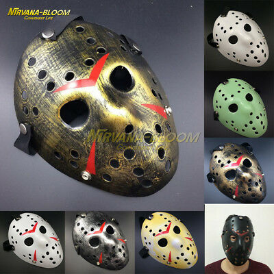 Halloween Film Jason (Cosplay Halloween Party props Jason Friday The 13th Horror Movie Hockey)