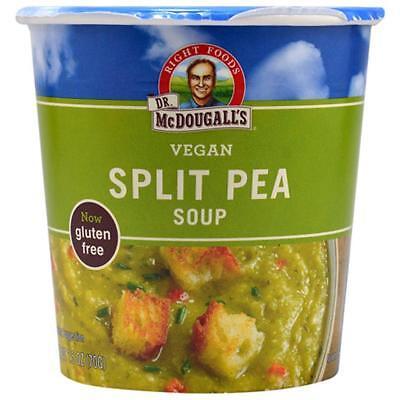 Dr. McDougall's-Lower Sodium Split Pea Soup Cup (12-1.9 oz cups)