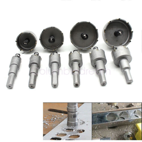 New 50mm Stainless Steel Tipped Drill Bit Metal Hole Saw Cutter Heavy Duty
