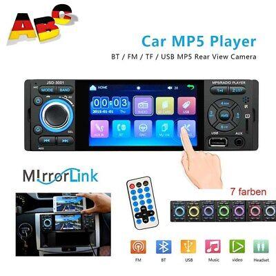 Einzelner 1Din Autoradio Bluetooth Mirror Link 4