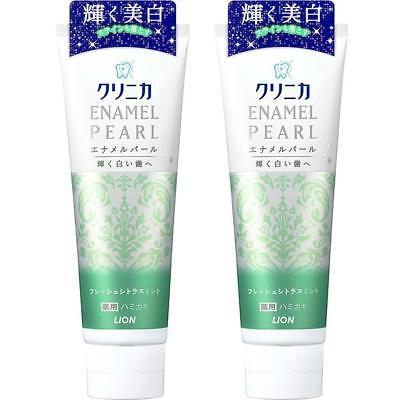 Toothpaste Clinica enamel pearl Fresh Citrus mint 130 g Japan Import Lion ()