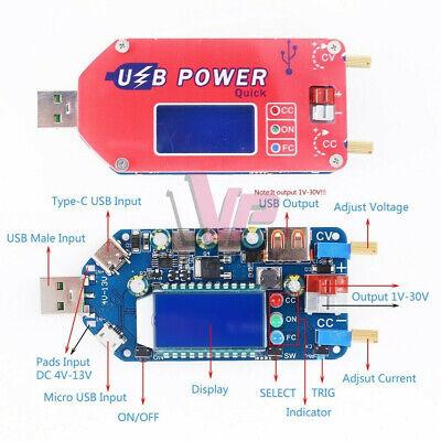 Digital Lcd Usb Adjustable Step Up Power Supply Module 15w Boost Converter Board
