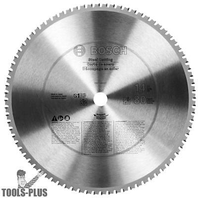 14 Inch X 80t Ferrous Metal Cutting Circular Saw Blade Bosch Tools Pro1480st New