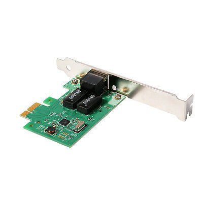PCIE PCI Express 10/100/1000M PC Desktop Gigabit Ethernet Lan Network Card AC331 ()